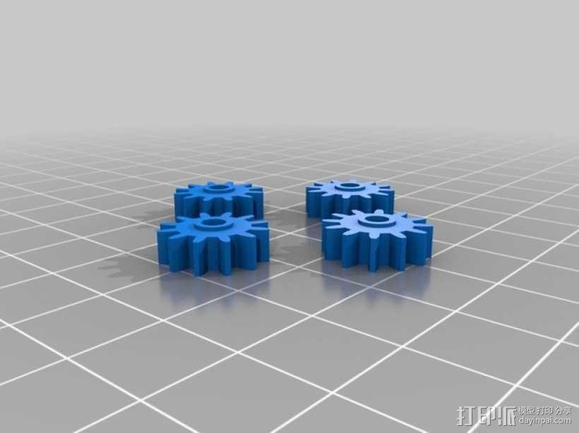 机械钟 3D模型  图22