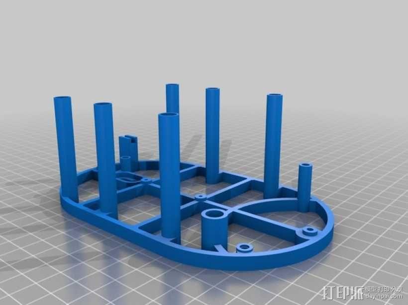 机械钟 3D模型  图36