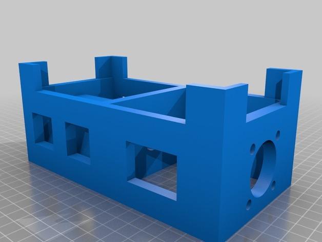 Lyman/Mulier线材挤出机V5 3D模型  图6