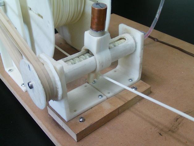 Lyman/Mulier线材挤出机V5 3D模型  图12