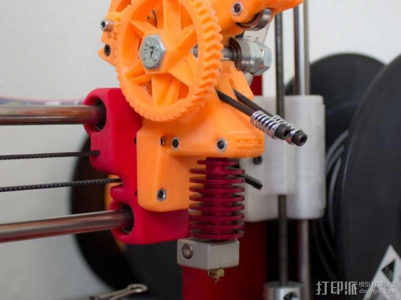 齿轮驱动挤出机 3D模型  图6