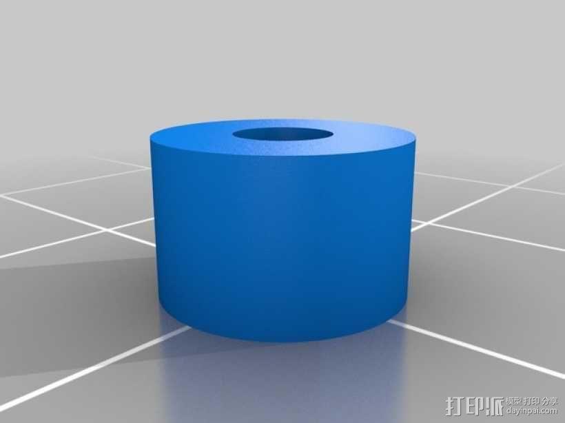 齿轮驱动挤出机 3D模型  图8