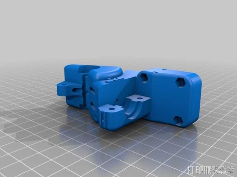 齿轮驱动挤出机 3D模型  图9