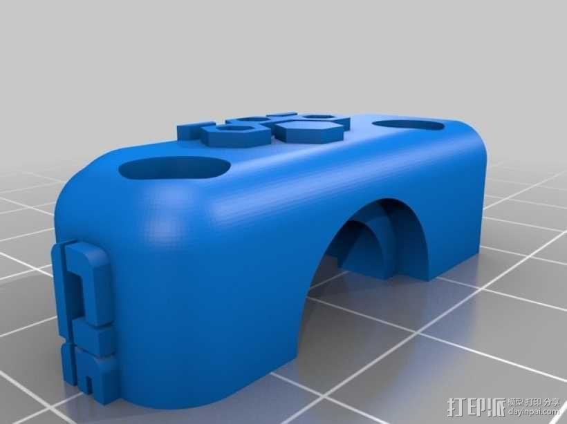 齿轮驱动挤出机 3D模型  图7