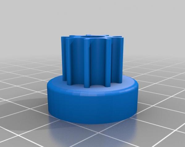带齿轮滑轮 3D模型  图10