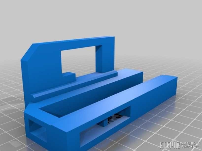 机械门锁 3D模型  图5