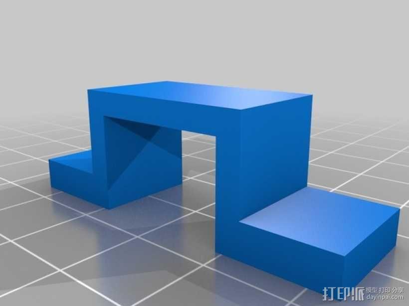 机械门锁 3D模型  图7
