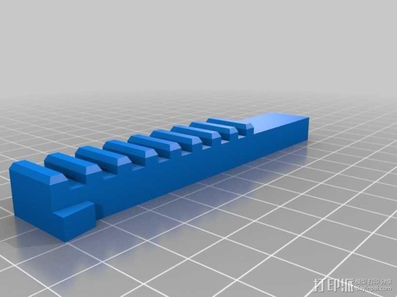 机械门锁 3D模型  图8