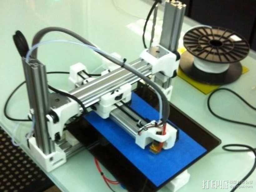Reprap Sid 3D打印机 3D模型  图1