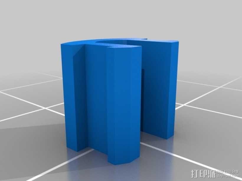 Reprap Sid 3D打印机 3D模型  图6