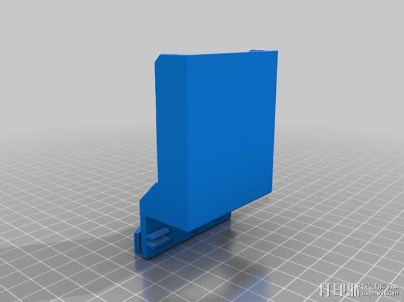 Reprap Sid 3D打印机 3D模型  图13