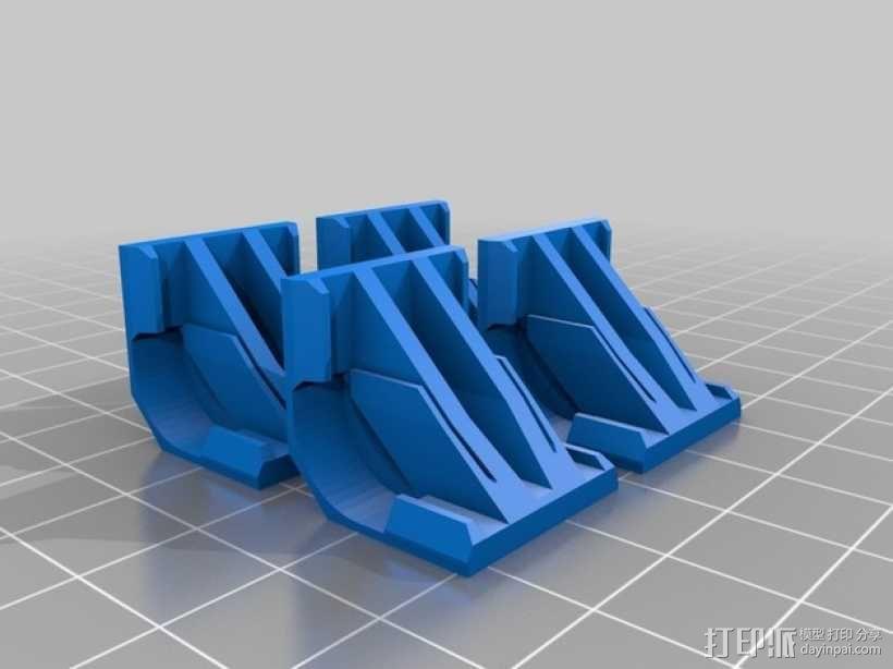 Reprap Sid 3D打印机 3D模型  图15