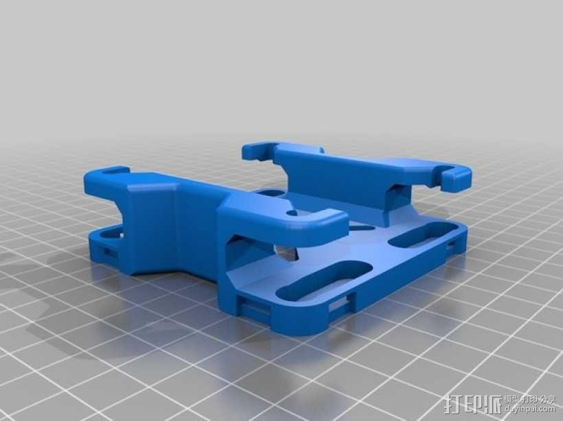 Reprap Sid 3D打印机 3D模型  图14
