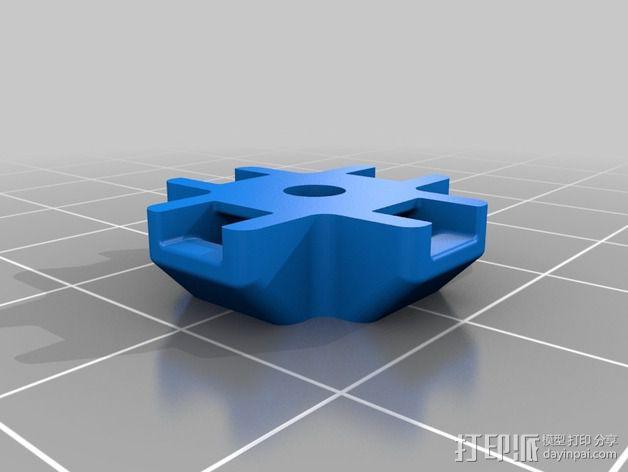 M3束线带带扣 3D模型  图7