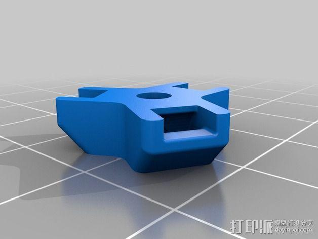 M3束线带带扣 3D模型  图6