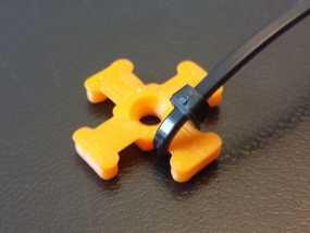 M3平机螺丝束线带 3D模型