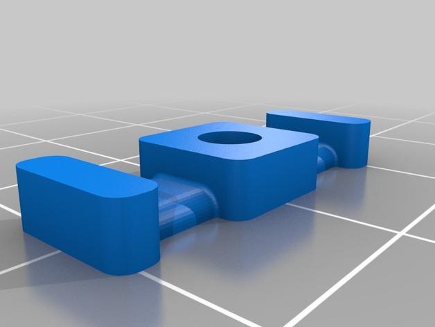 M3平机螺丝束线带 3D模型  图5