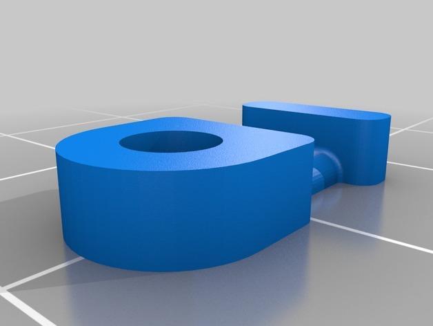 M3平机螺丝束线带 3D模型  图4