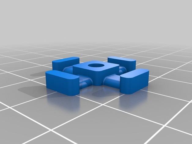 M3平机螺丝束线带 3D模型  图7