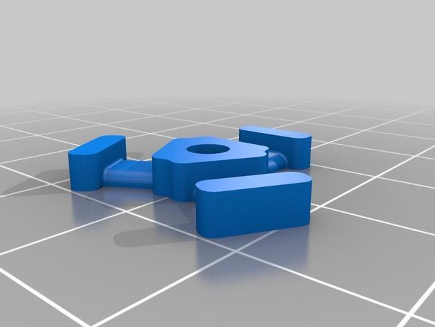 M3平机螺丝束线带 3D模型  图6