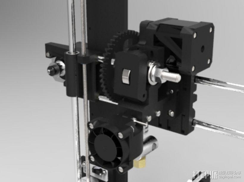 Prusa i3 3D打印机 3D模型  图4