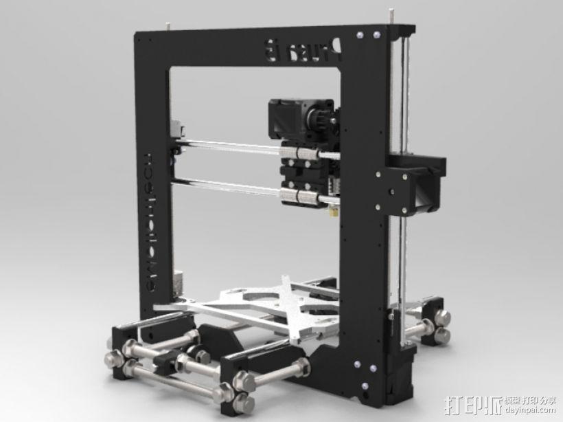 Prusa i3 3D打印机 3D模型  图3