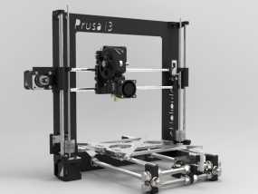 Prusa i3 3D打印机 3D模型