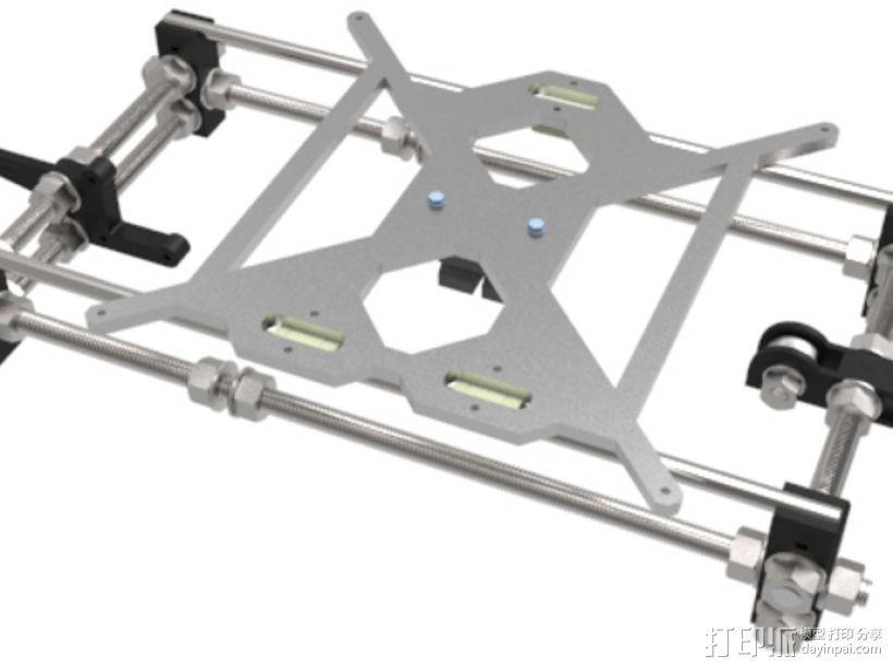 Prusa i3 3D打印机 3D模型  图8