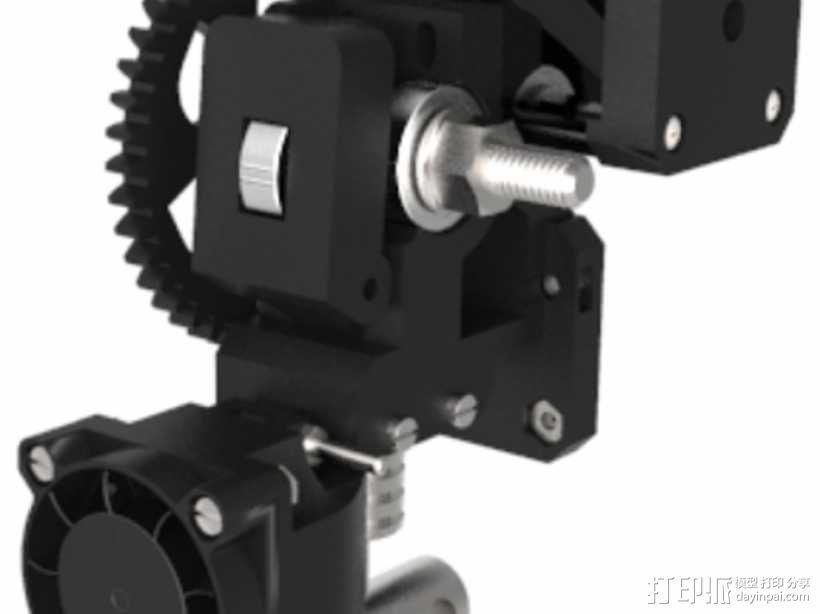 Prusa i3 3D打印机 3D模型  图11