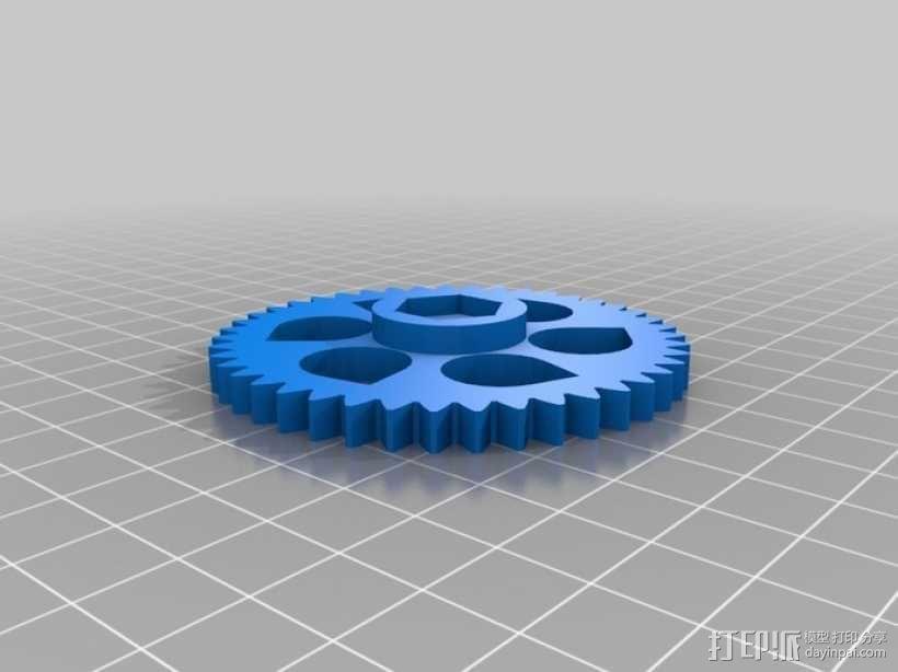 Prusa i3 3D打印机 3D模型  图21
