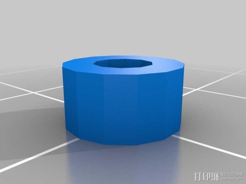 Prusa i3 3D打印机 3D模型  图22
