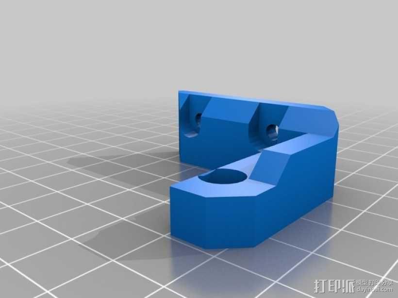 Prusa i3 3D打印机 3D模型  图30