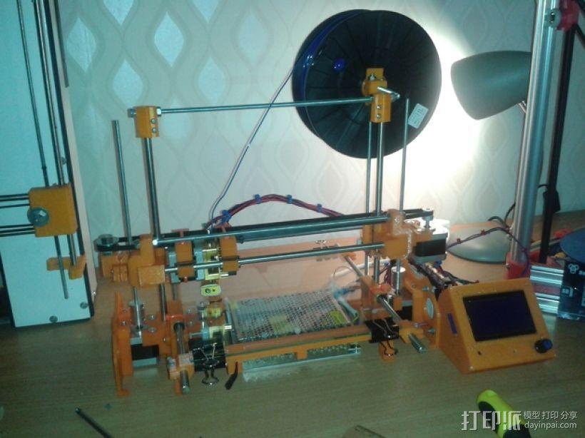 RepRap TinkerBot 3D打印机 3D模型  图1