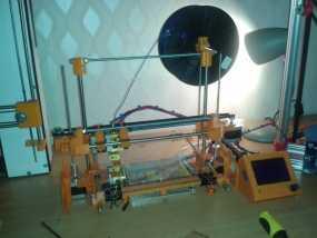 RepRap TinkerBot 3D打印机 3D模型
