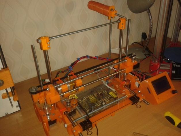 RepRap TinkerBot 3D打印机 3D模型  图2