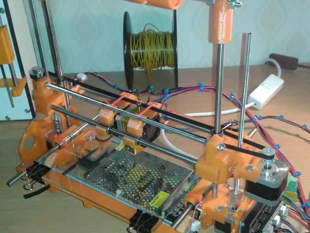 RepRap TinkerBot 3D打印机 3D模型  图4