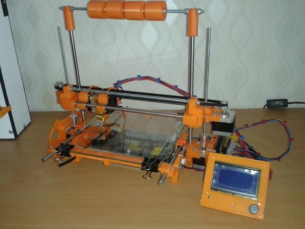 RepRap TinkerBot 3D打印机 3D模型  图3