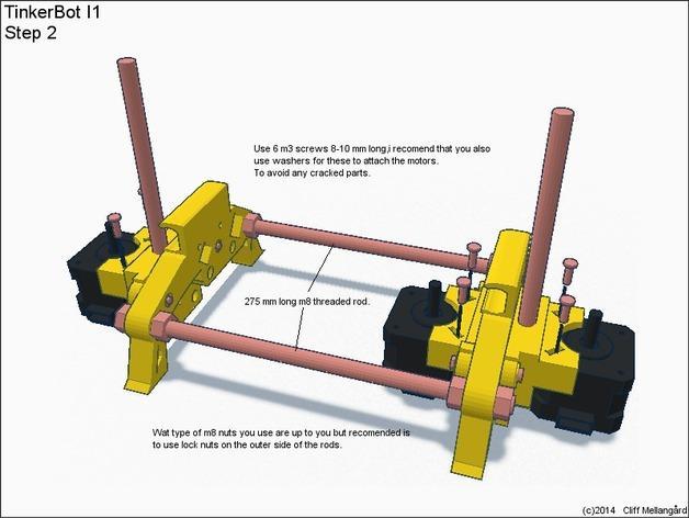 RepRap TinkerBot 3D打印机 3D模型  图7