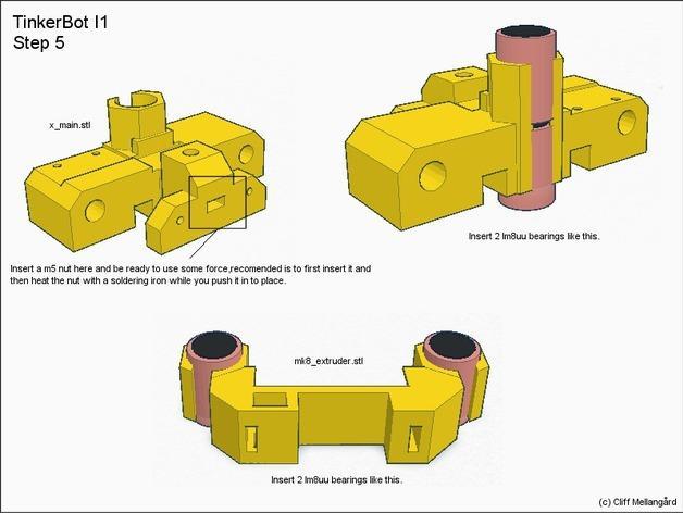 RepRap TinkerBot 3D打印机 3D模型  图10