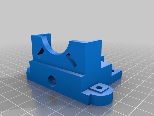RepRap TinkerBot 3D打印机 3D模型  图15