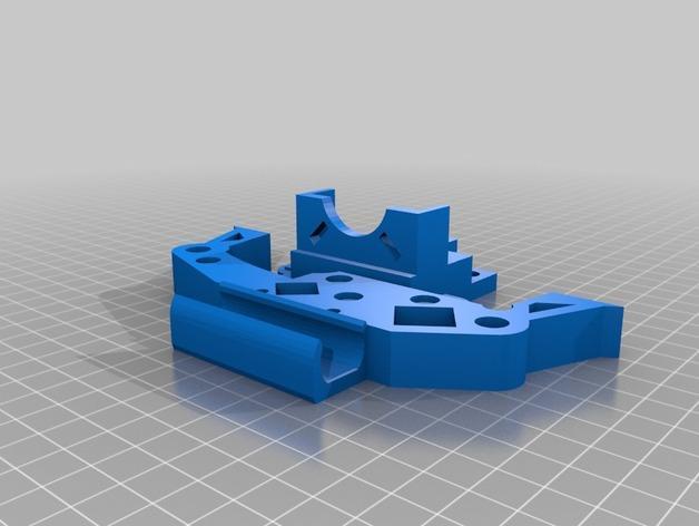 RepRap TinkerBot 3D打印机 3D模型  图19