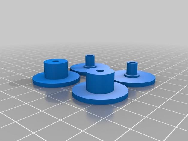 RepRap TinkerBot 3D打印机 3D模型  图27