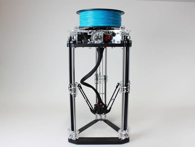 µDelta微型打印机 3D模型  图1