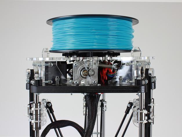 µDelta微型打印机 3D模型  图2