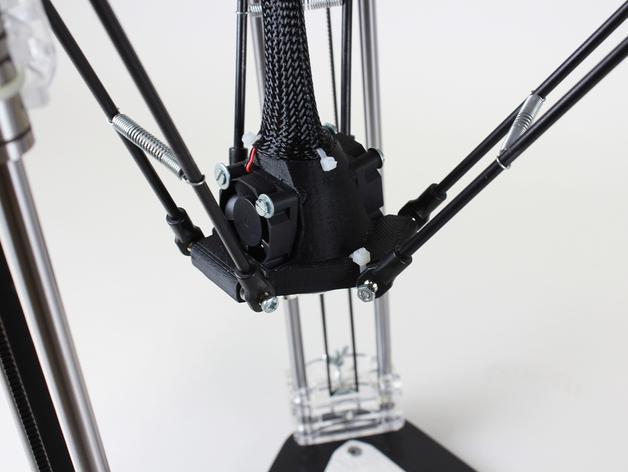 µDelta微型打印机 3D模型  图5