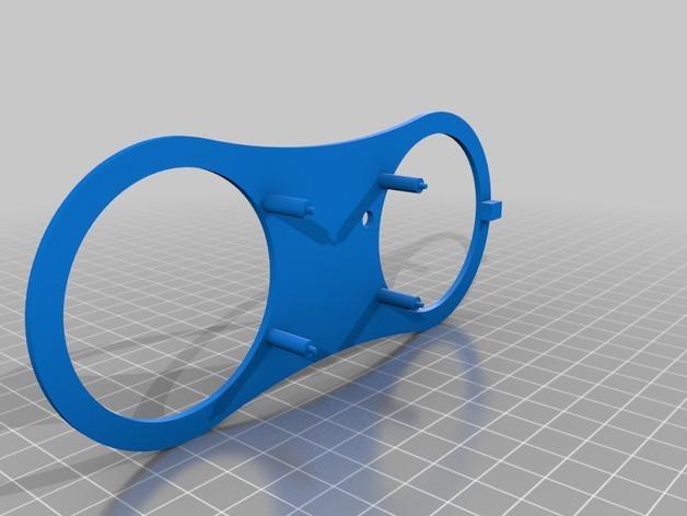 3D打印扬声器外壳 3D模型  图2