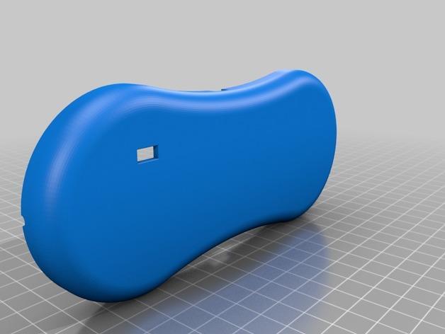 3D打印扬声器外壳 3D模型  图4