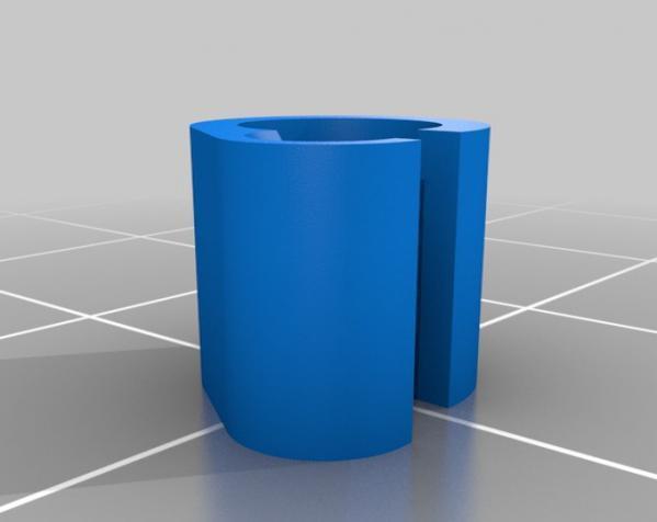 1.75毫米 线夹 3D模型  图5