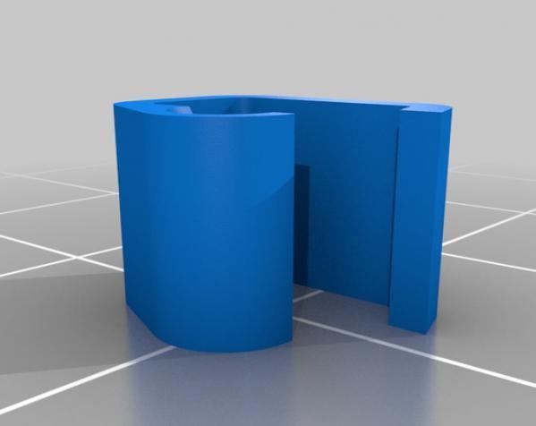 1.75毫米 线夹 3D模型  图6