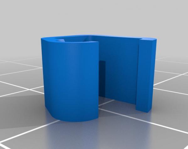 1.75毫米 线夹 3D模型  图7
